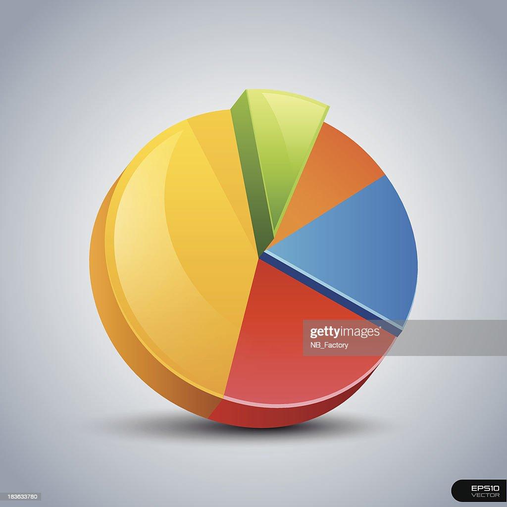 Pie Chart - Vector illustration