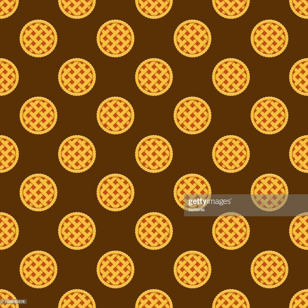 Pie Seamless Pattern : stock illustration