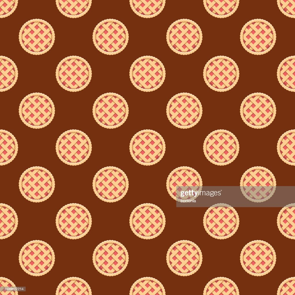 Pie Seamless Pattern : stock illustration