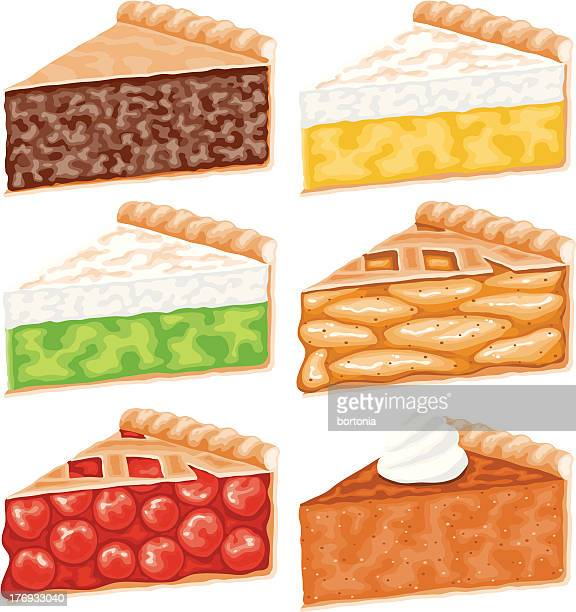 Pie Slices Icon Set