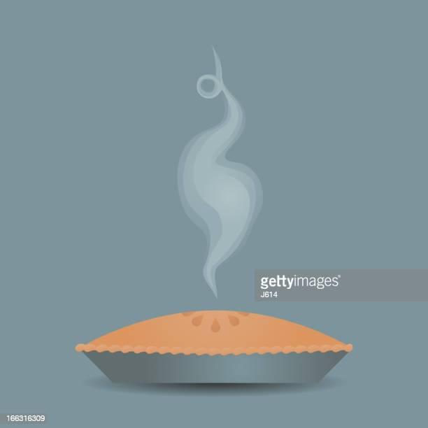 ilustrações, clipart, desenhos animados e ícones de pie torta - vapor forma da água