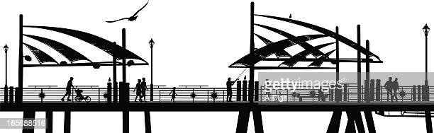 Pier One Vector Silhouette