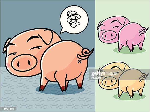 Schwein Comic