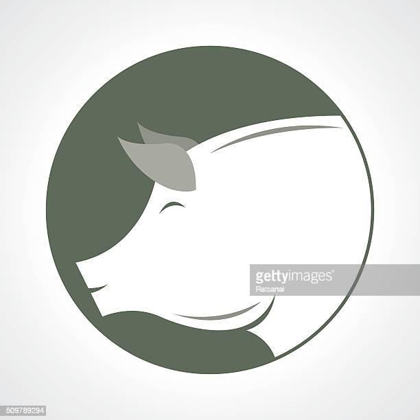 ilustraciones, imágenes clip art, dibujos animados e iconos de stock de cerdo de icono de vector de - animal vertebrado