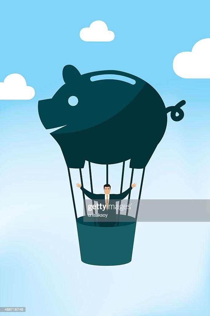 Piggy Bank Baloon