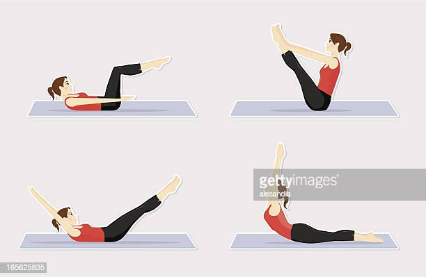 Pilates positions