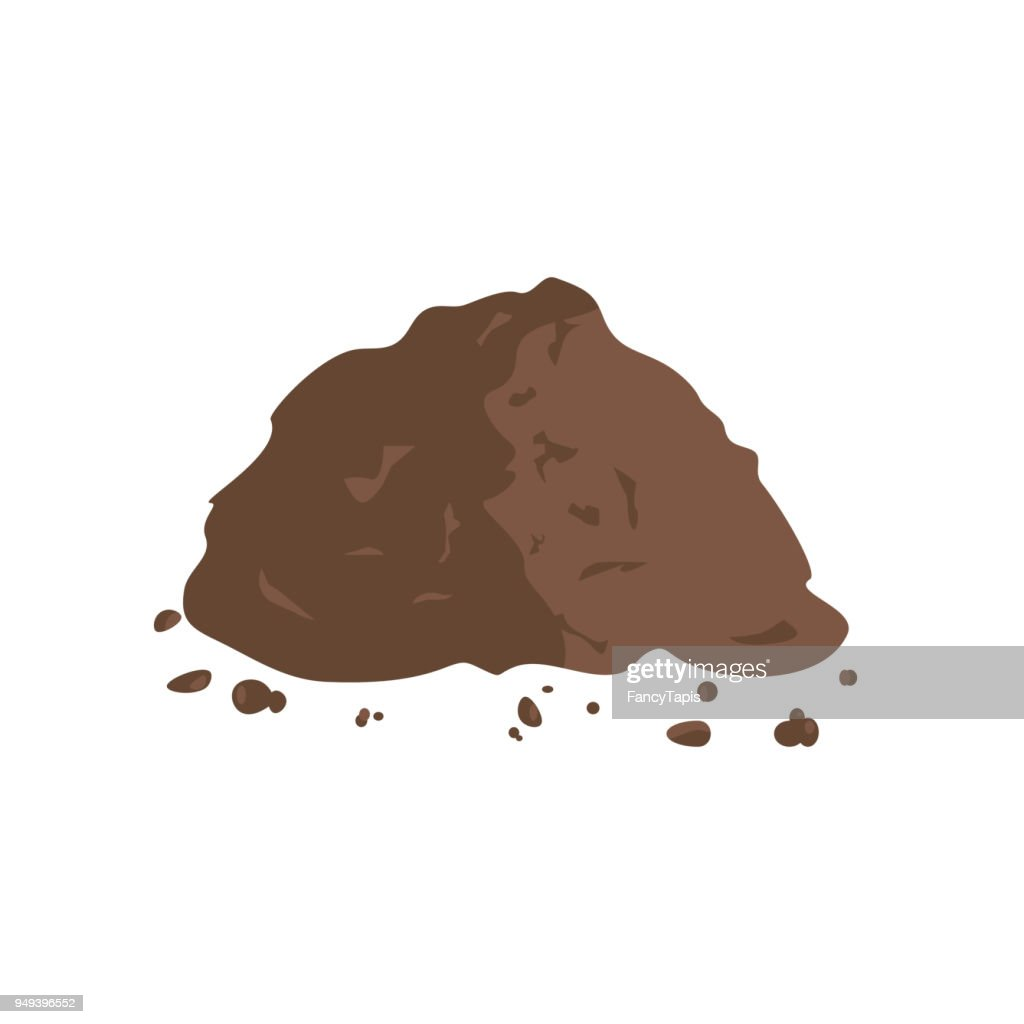 Pile of Ground or Compost