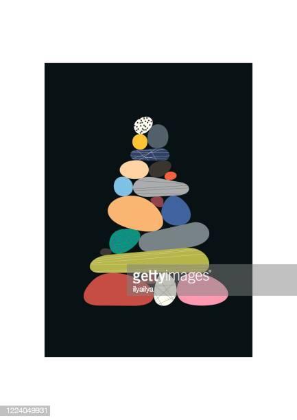 石の山 - 石塚点のイラスト素材/クリップアート素材/マンガ素材/アイコン素材