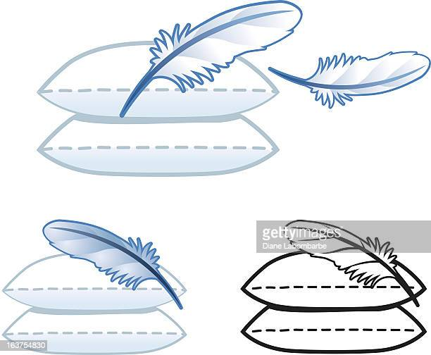 Pillow Feather Icons