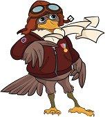 WWI Pilot Bird