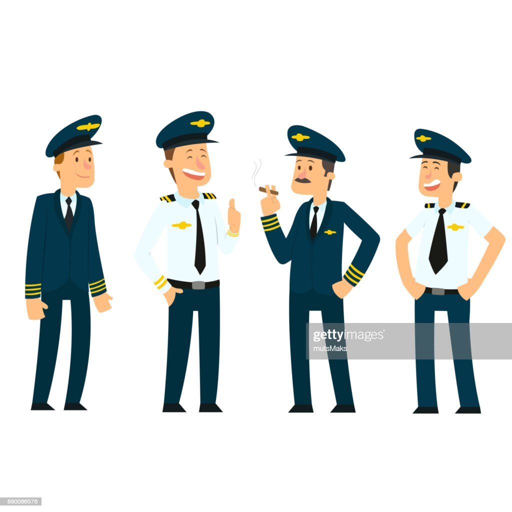 pilots in uniform.
