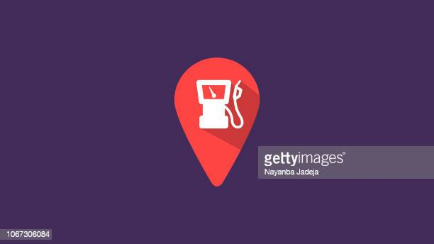 pin icon vector - locator map stock illustrations