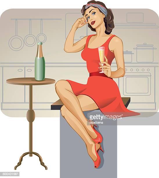 ilustraciones, imágenes clip art, dibujos animados e iconos de stock de contactos de up - chicas de calendario