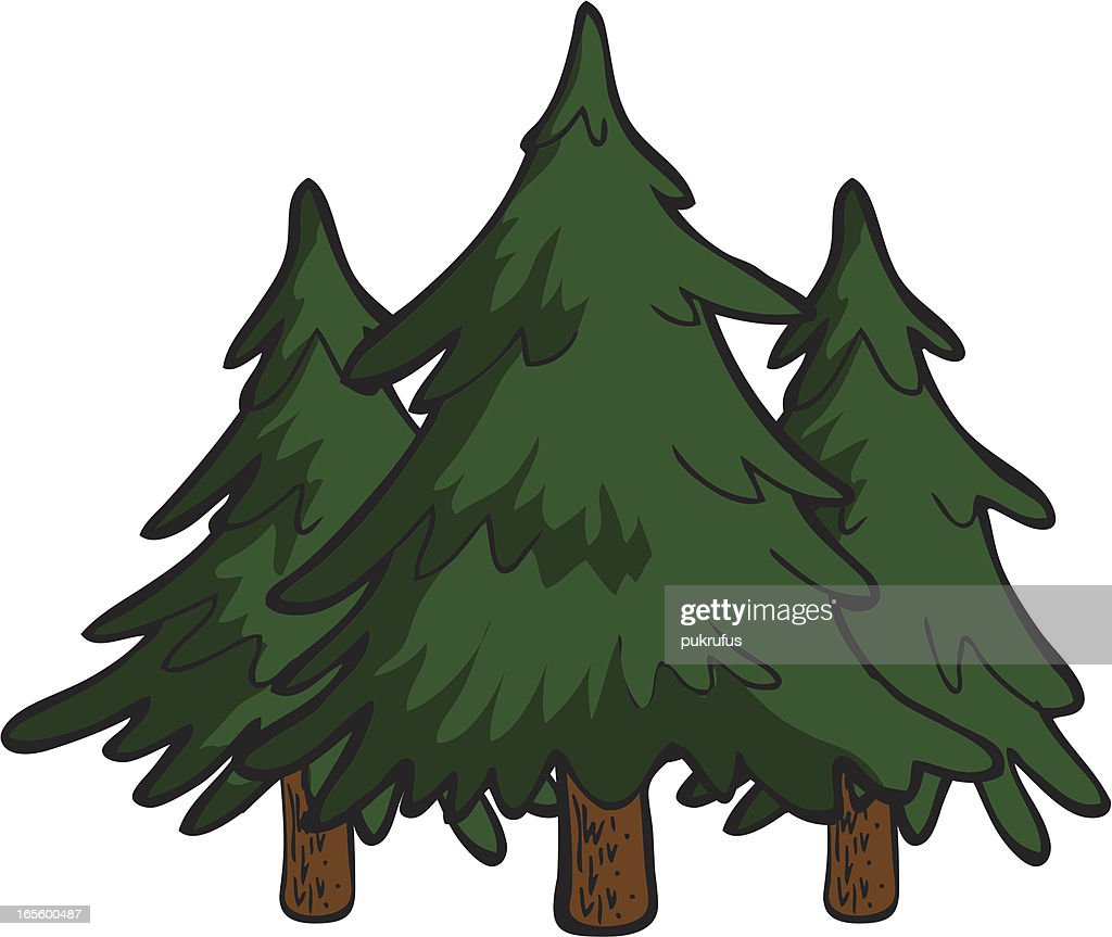 pine tree stock illustrations and cartoons getty images rh gettyimages com cartoon pine trees pictures cartoon pine trees pictures