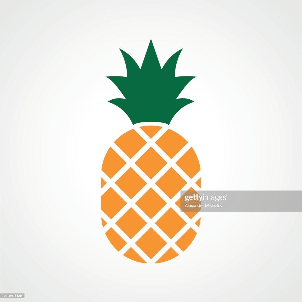 pineapple ananas icon