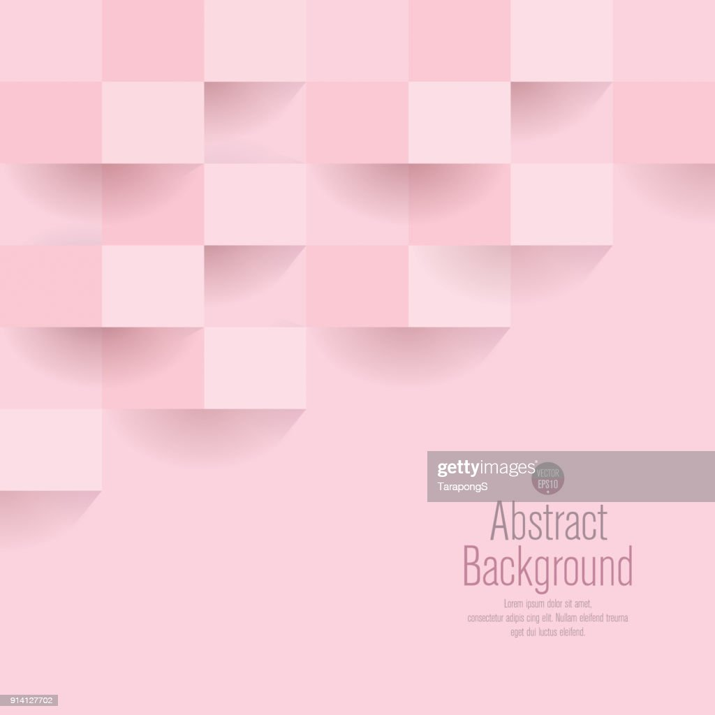 Pink abstract background vector.
