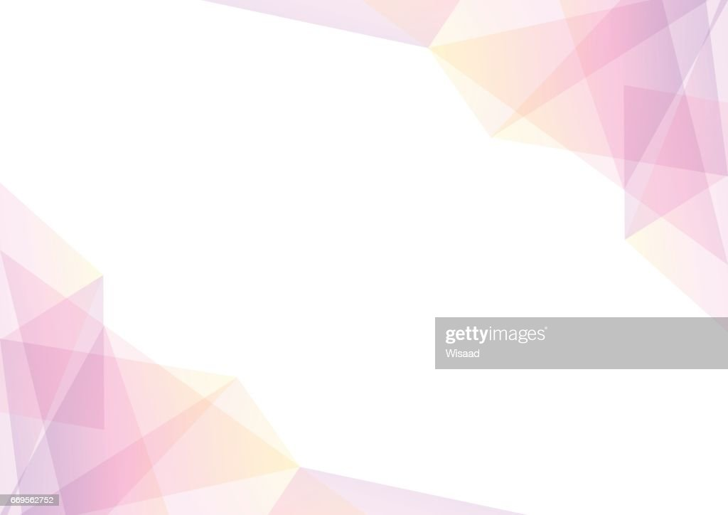 pink and yellow geometric spectrum abstract background