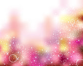 pink background of sparkles