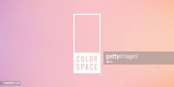 pink basic elegant soft color space smooth gradient vector background - girly wallpapers stock illustrations