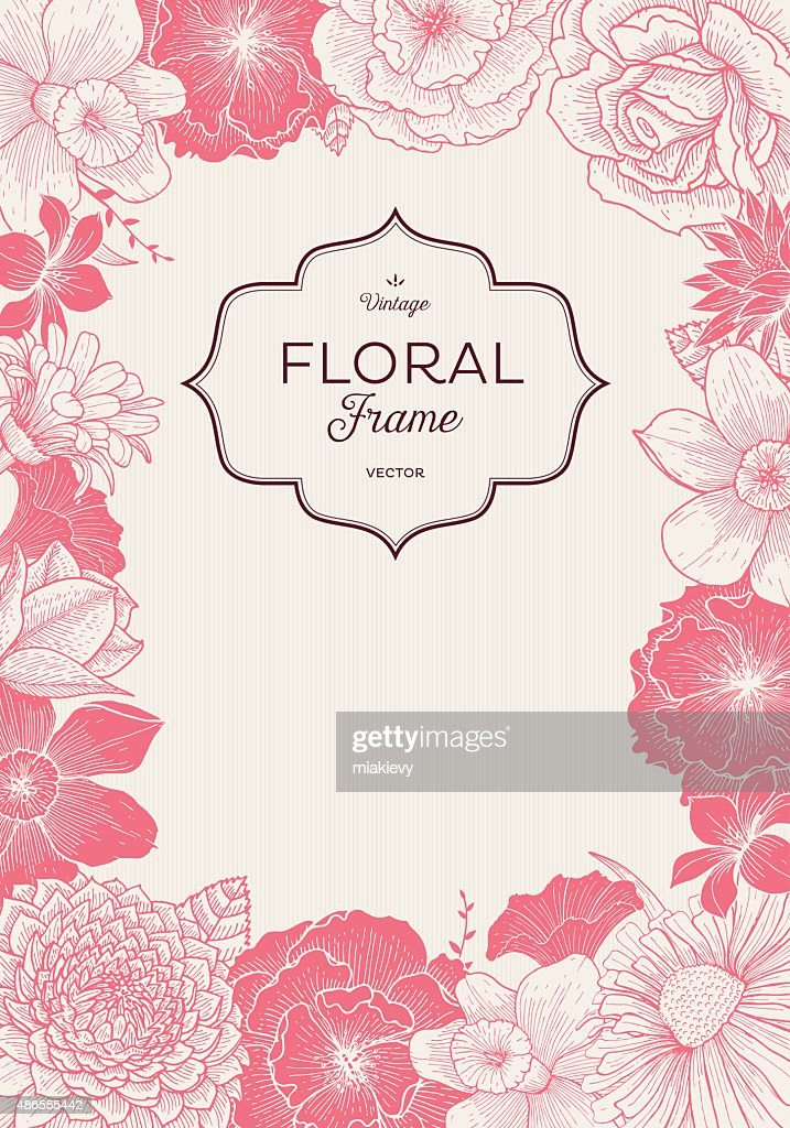 Pink Blooming Event : stock illustration