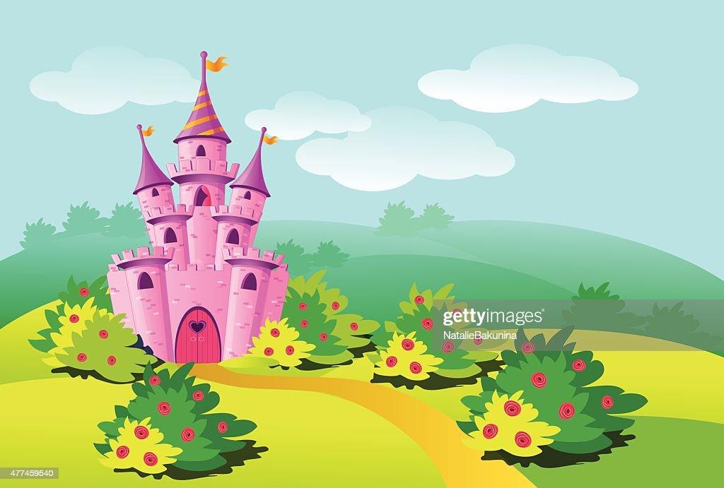 Pink castle.