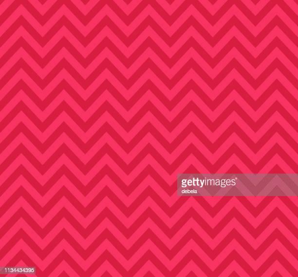 ピンクのシェブロンパターン。レトロな幾何学的背景。 - 山形模様点のイラスト素材/クリップアート素材/マンガ素材/アイコン素材