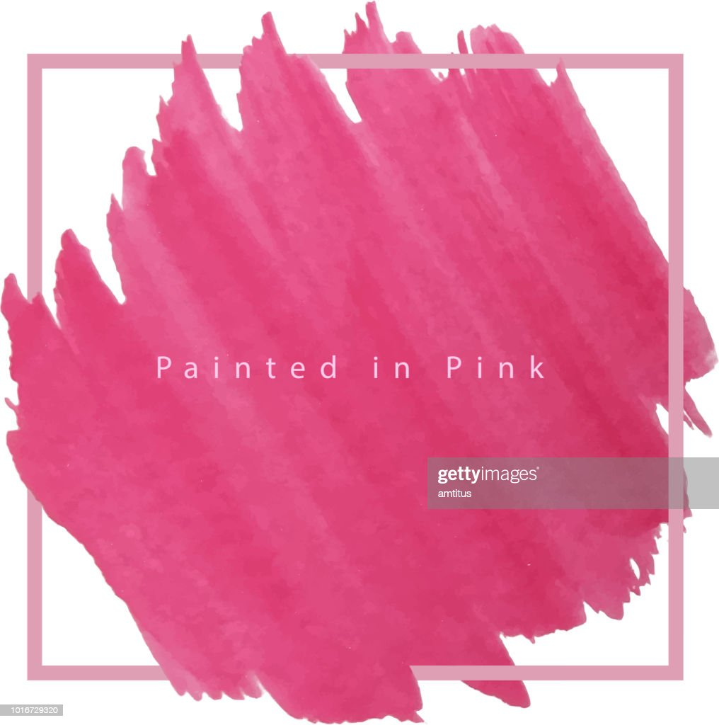pink frame : stock illustration