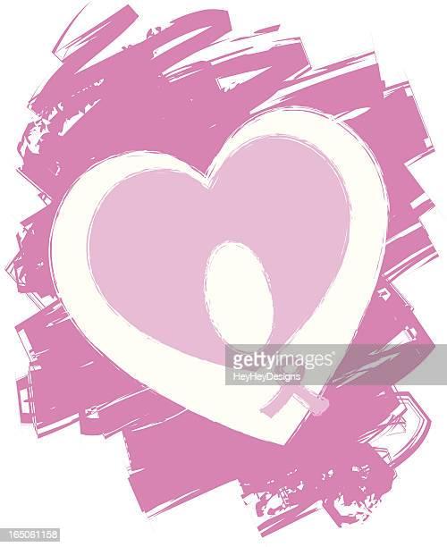 乳がんホープ - マモグラフィー点のイラスト素材/クリップアート素材/マンガ素材/アイコン素材