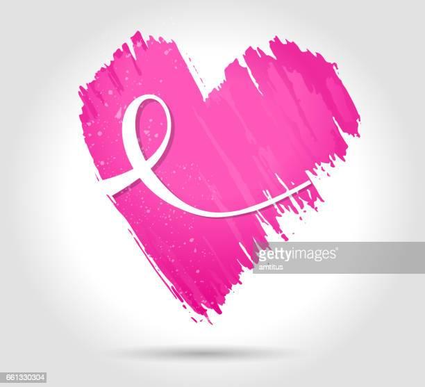 rosa herzen - gesellschaftliches symbol stock-grafiken, -clipart, -cartoons und -symbole