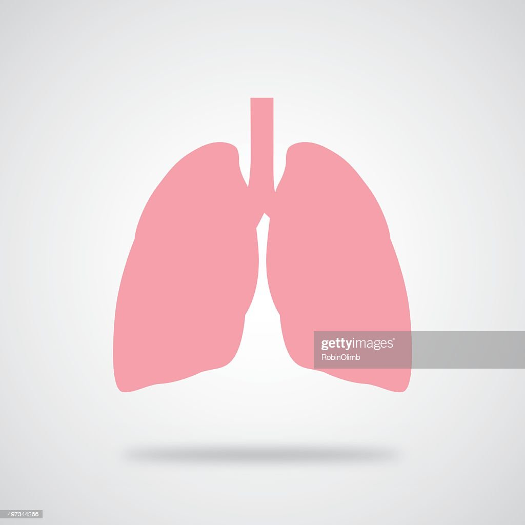 Pink Lungs Icon