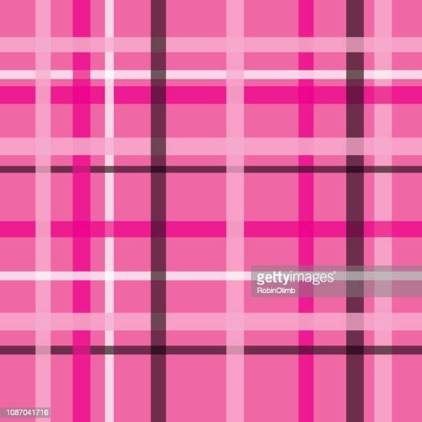 ピンクの格子柄のシームレス パターン - ショッキングピンク点のイラスト素材/クリップアート素材/マンガ素材/アイコン素材