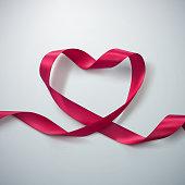 Pink Ribbon Heart.