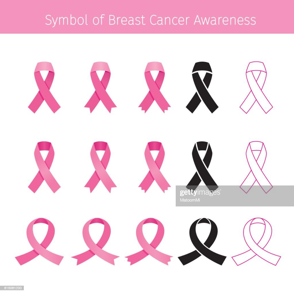 Pink Ribbon, Symbol Breast Cancer Awareness