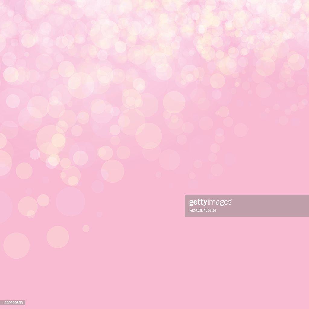 Pink shines wedding love bokeh