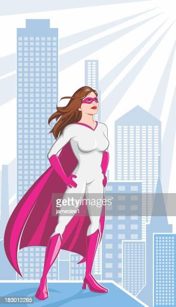 ピンクのスーパーヒーロー