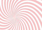 pink twist shape pattern background