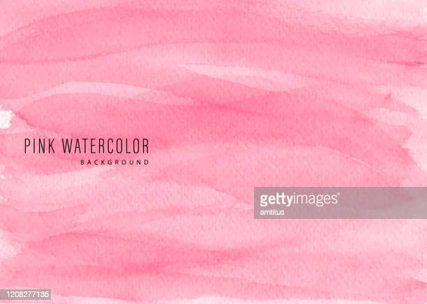 stockillustraties, clipart, cartoons en iconen met roze aquarel bg - internationale vrouwendag