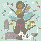 pinkafricatree