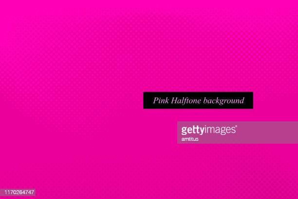 pinkish halftone - pink background stock illustrations
