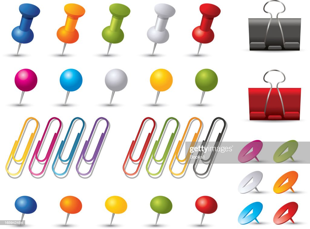 Pins and Clips collection
