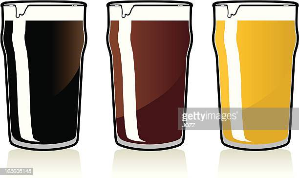 pint beer set