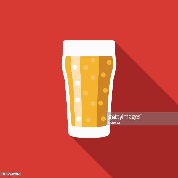 pint of ale design united kingdom icon - ale stock illustrations