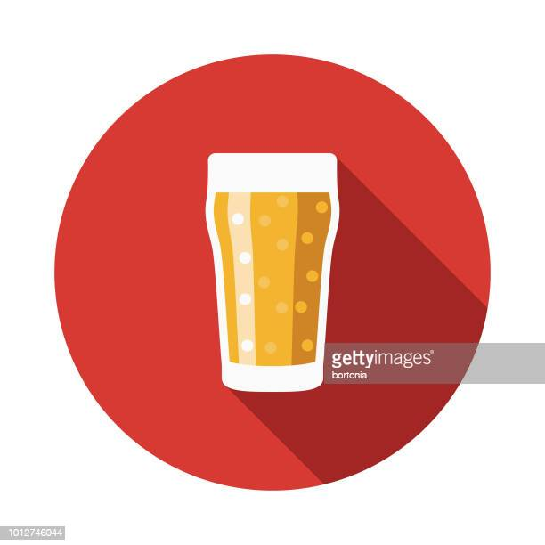 pint of ale design united kingdom icon - india pale ale stock illustrations, clip art, cartoons, & icons