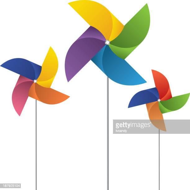 ピンホイール - 風車塔点のイラスト素材/クリップアート素材/マンガ素材/アイコン素材
