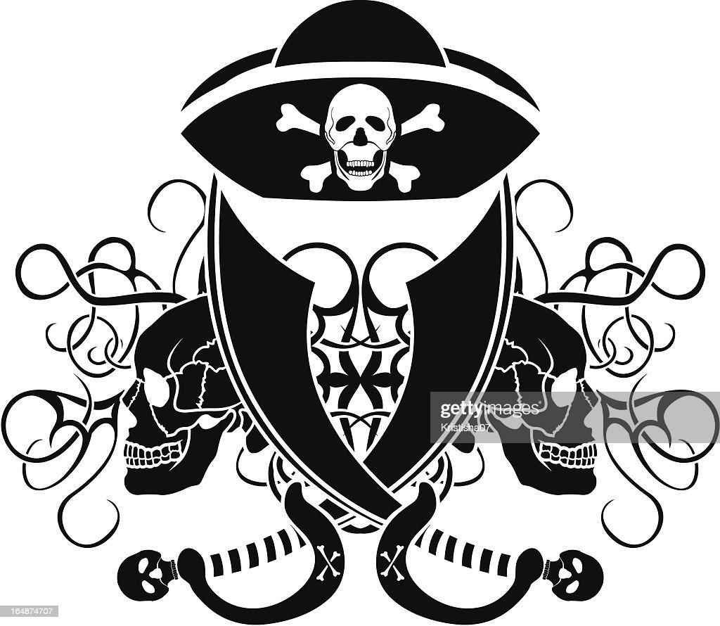 piracy tattoo