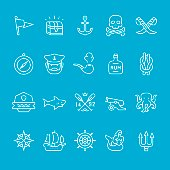 Pirate and Sailor theme icons