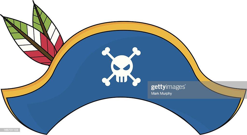 Pirate Captains Hat Vector Art   Getty Images Captain Hat Vector