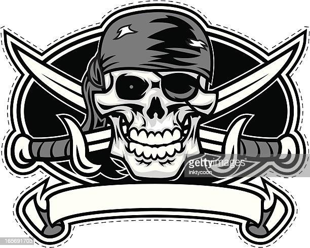Pirate crest design