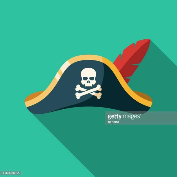 海賊帽子アイコン - セーラーハット点のイラスト素材/クリップアート素材/マンガ素材/アイコン素材