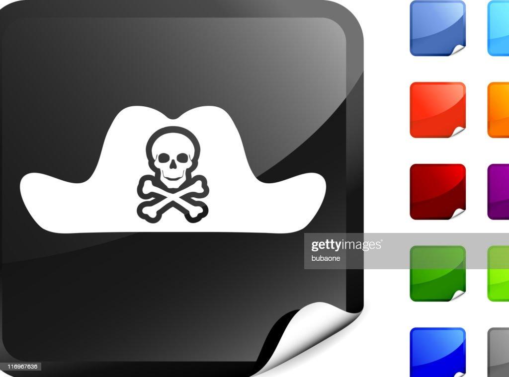 pirate hat internet royalty free vector art